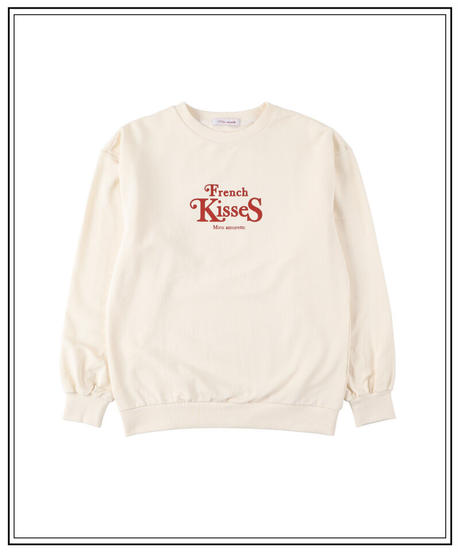 """French kisses"" sweat"