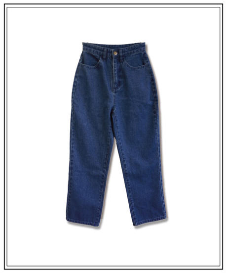 Miro straight denim〈M00-P008〉