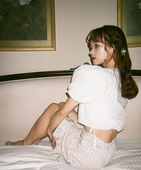 cotton tyrol blouse