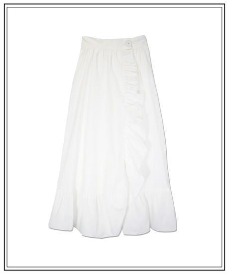 frill waitress skirt