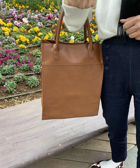 vertically long 3way bag