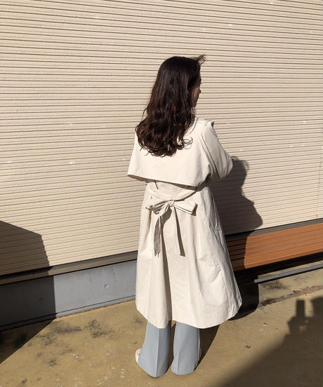 sand color trench coat〈M00-C001〉