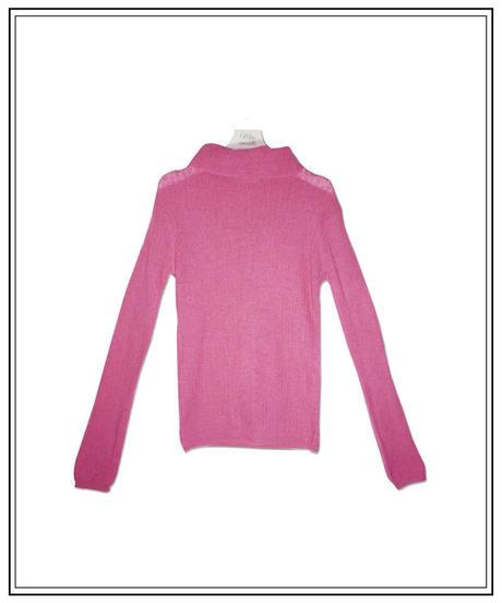 turtle pink knit