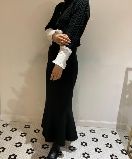 frill sleeve cardigan
