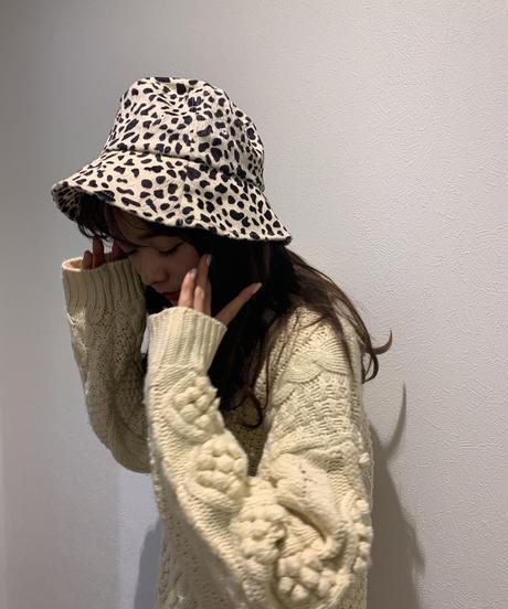 leopard bucket hat