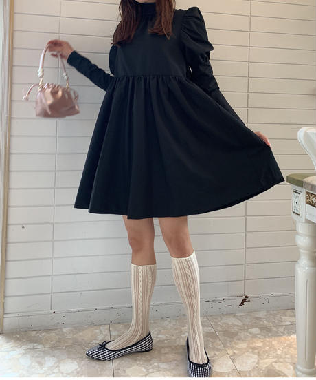 French girly OP - black