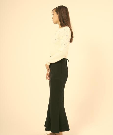 back ribbon mermaid skirt