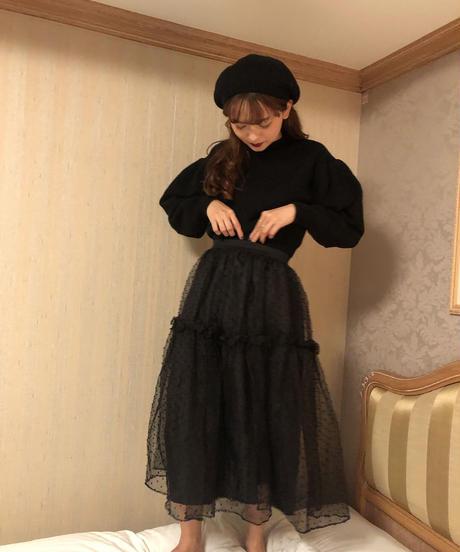 dolly tulle dot skirt