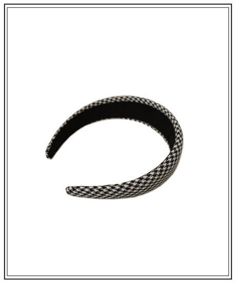 houndstooth hairband