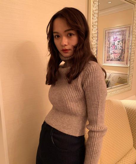 warm turtleneck knit