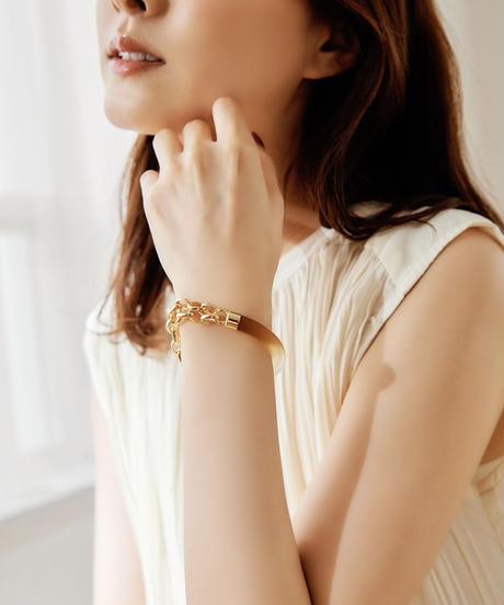 【2021.7.15(Thu)21:00-PRE-ORDER】Clear Gradation Bracelet (thin ver. Brown)