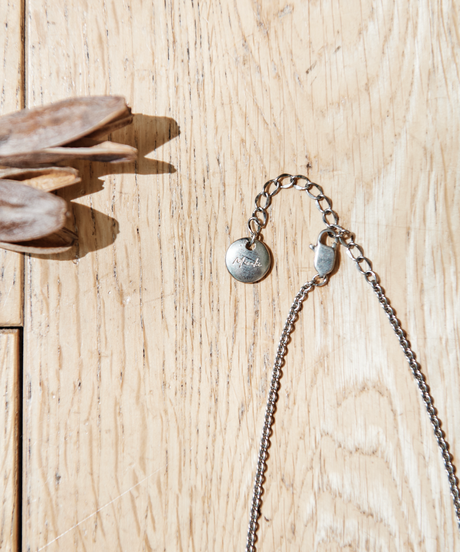 【2021.7.15(Thu)21:00-PRE-ORDER】Clear Gradation Necklace(Gray)