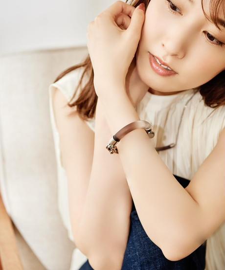 【2021.7.15(Thu)21:00-PRE-ORDER】Clear Gradation Bracelet(Gray)