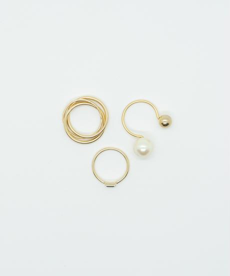 【2021.3.27(sat)21:00-STOCKS】 Memories  Ring(Mat Gold)