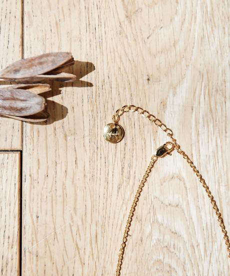 【2021.7.15(Thu)21:00-PRE-ORDER】Clear Gradation Necklace(Brown)