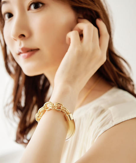 【2021.7.15(Thu)21:00-PRE-ORDER】Clear Gradation Bracelet(Yellow)
