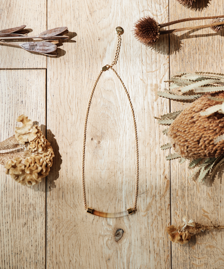 【2021.7.15(Thu)21:00-PRE-ORDER】Clear Gradation Necklace(Yellow)
