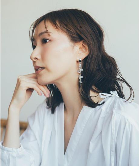 Shiny Multi Pierce /earring(Silver)