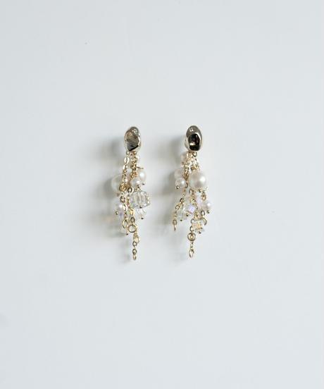 Shiny Multi Pierce /earring(Gold)