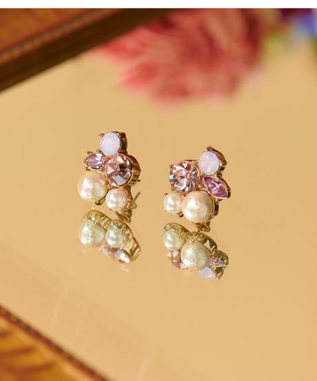 MIRION CARAT Pierce /earring(pink)
