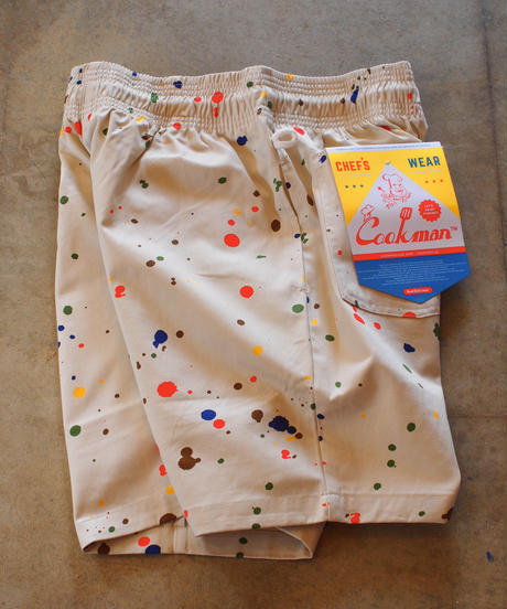 """COOKMAN"" Chef Short Pants[Sauce Splash]"
