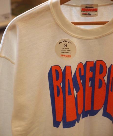 """JHANKSON""Baseball Sweat"