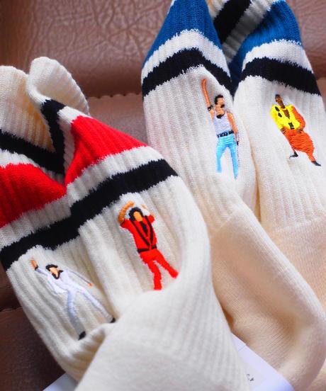 "Men's再入荷!""BRU NA BOINNE""×""decka Quality Socks""SK8 Socks"