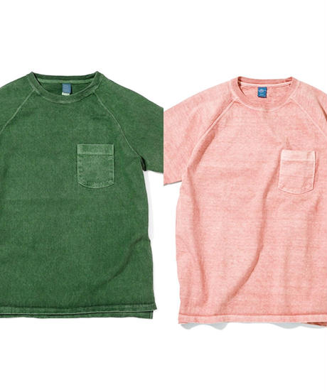 """GOOD ON"" S/S HEAVY RAGLAN POCKET TEE"