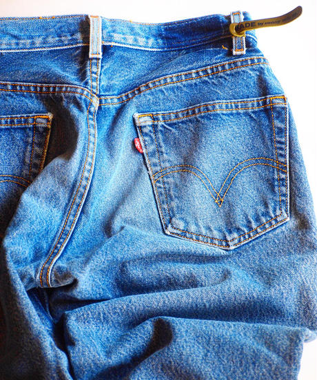 """Made by SUNNY SIDE UP"" 2 for 1 Remake Denim"