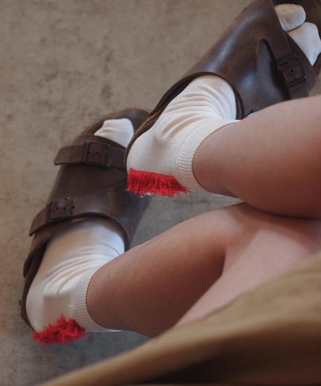 """decka Quality socks"" by BRÚ NA BÓINNE Mohican Socks / Split Toe Style"