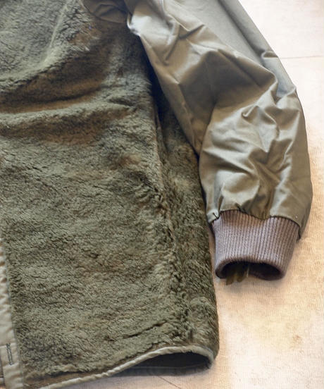 """DUTCH ARMY"" Parka Coat Boa Liner[DEAD STOCK]"