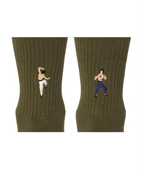 """""""decka Quality socks by BRÚ NA BÓINNE"""" Pile Socks / Embroidery / JB"""