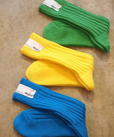 """decka Quality Socks "" Cased Heavyweight Plain Socks"