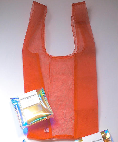 """odds"" Colorful Mesh Bag"