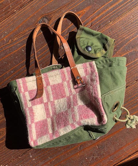 """MITAKUYE Original"" Army Remake Tote Bag"