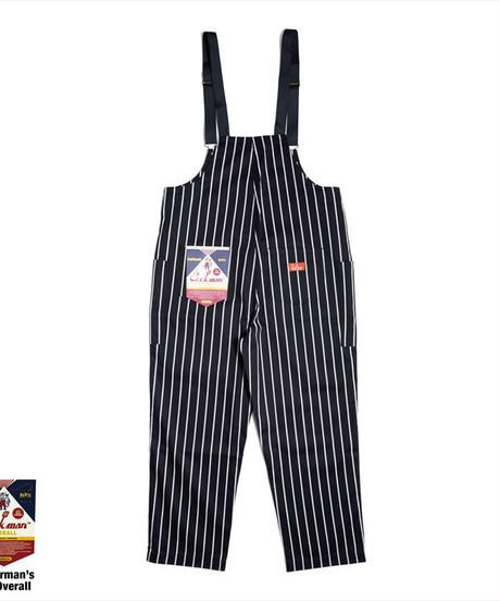 """COOKMAN""Fisherman's Bib Overall[Pin Stripe]"