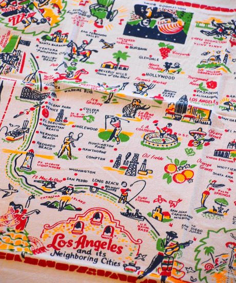 """Red and White Kitchen Company"" Souvenir Towel"