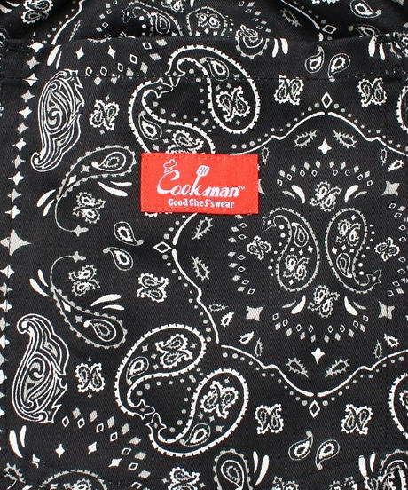 "再入荷!""COOKMAN"" Chef Pants[Paisley/Black]"
