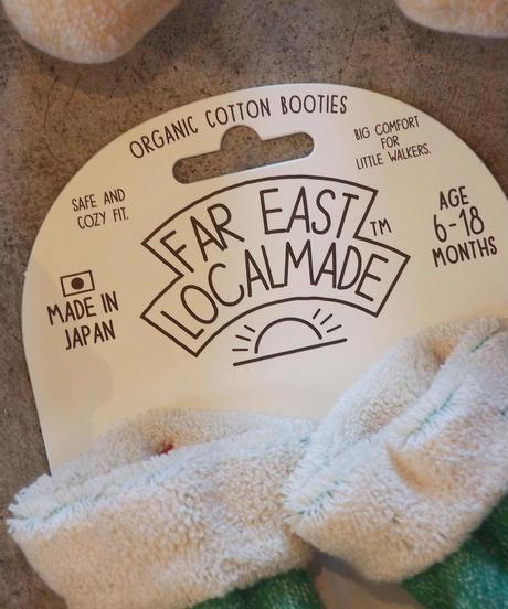 """FAR EAST LOCALMADE"" Organic Cotton Booties"