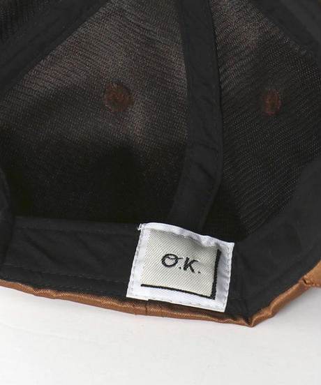 """O.K.""SATIN DAILY CAP"