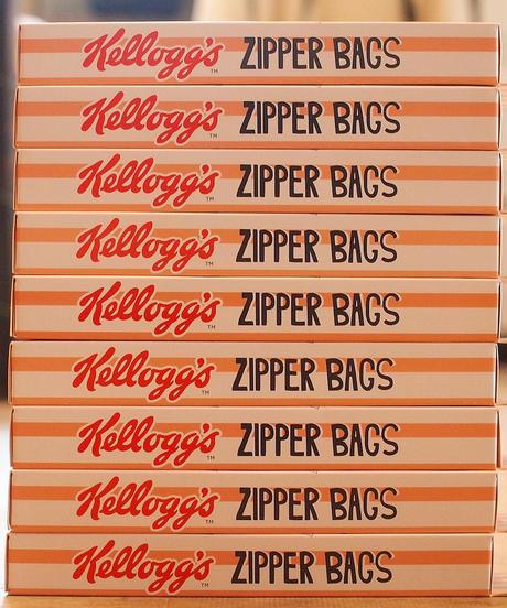 """""""ZIPPER BAGS"""" Kelloggs"""