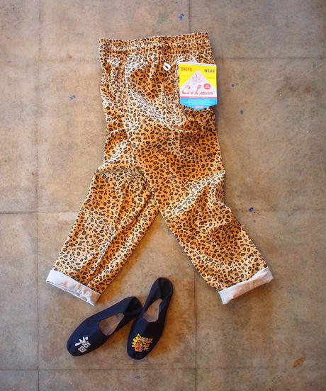 """COOKMAN"" Chef Pants[Leopard]"