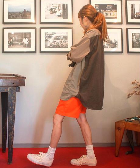 """COOKMAN""Chef Short Pants[Orange]"