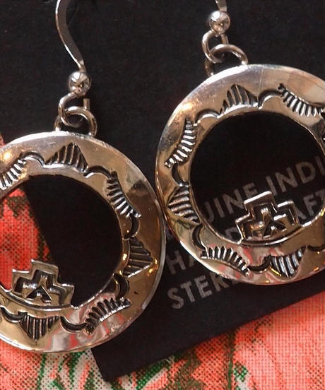 """NAVAJO"" Stumpwork Silver Pirce"