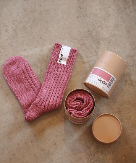 """decka Quality Socks""Cased Heavyweight Plain Socks"