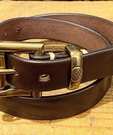 """BARNS outfitters"" Tochigi Leather Fireman Buckle Belt"