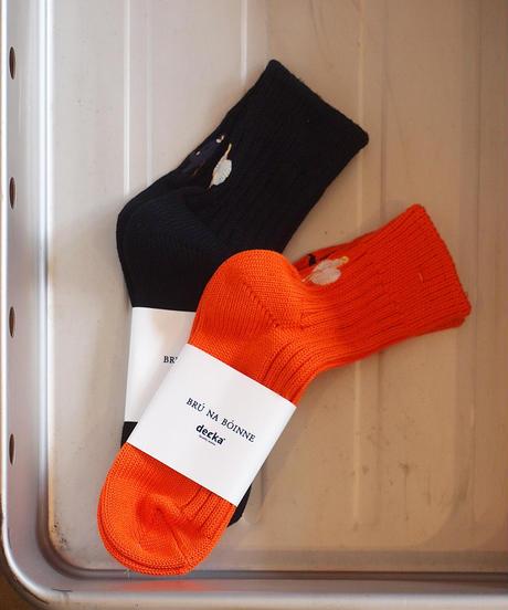 """decka""×""BRU NA BOINNE""Heavyweight Short Socks[Star]"