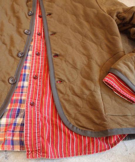 """SPINNER BAIT""Military Quilt Cardigan"