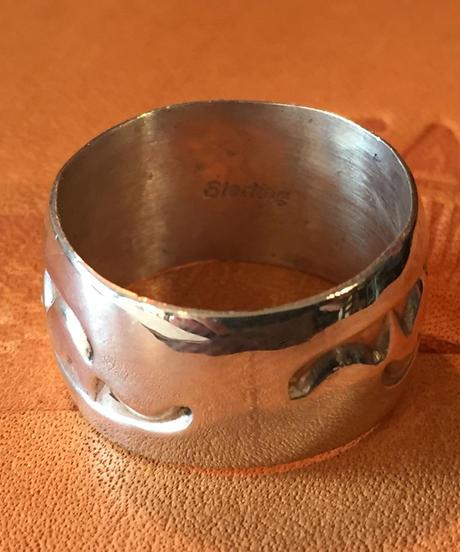 """""""NAVAJO"""" silver ring"""