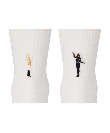 decka Quality socks by BRÚ NA BÓINNE Pile Socks / Embroidery / MJ